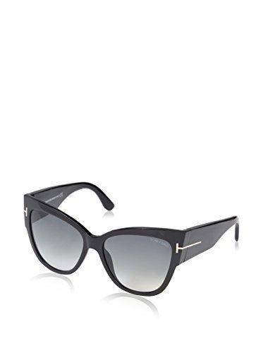 Tom Ford Women\'s Anoushka Sunglasses - Black Frame/Gray Lens - 57mm ...