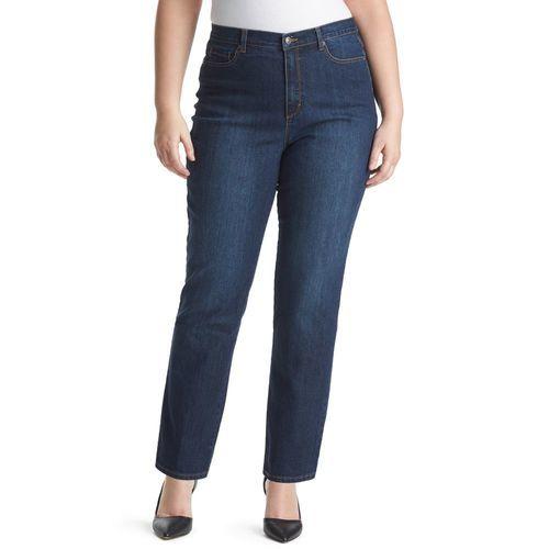 83d468212a8 Gloria Vanderbilt Women s Plus Amanda Tapered Jeans - Blue - Size ...