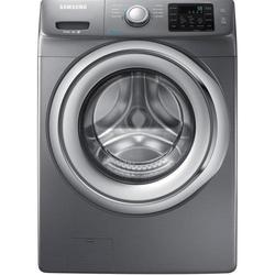 Samsung Front-Load Steam Washer - 4.2 Cu. ft. - Platinum (WF42H5200AP) 1431982