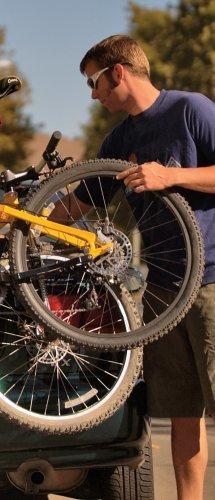 Allen 103db Deluxe 3 Bike Trunk Mount Rack For Car 102152 Check