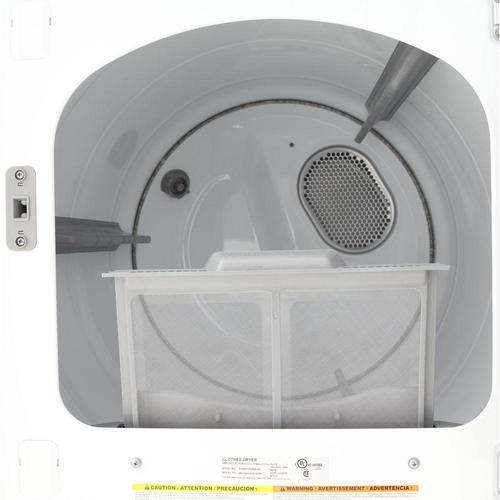 Samsung 7 4 cu  ft  Electric Dryer - White (DV45H7000EW