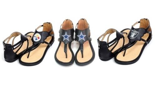 sneakers for cheap ac9dd 7e0fe ... NFL Women s Dallas Cowboys Gladiator Sandals - Multi ...