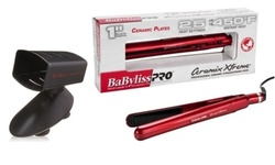 Babyliss Ceramix Xtreme Flat Iron and Free TS-2 Flat Iron Holder: Red 1438612