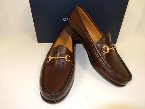 9a86542cc2c Cole Haan Men s Ascot Loafer Shoes - Dark Brown - Size 7.5 - Check ...