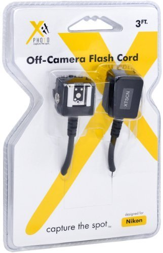 Xit Xtscn Heavy Duty Off Camera Flash Cords That Stretch To 75 Feet