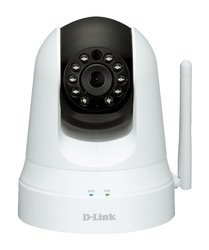 D-Link Pan and Tilt Wi-Fi Camera - White (DCS-5020L)