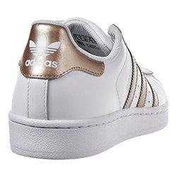 adidas Originals Women's Superstar Fashion Sneaker, White
