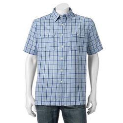 02c440cf841b Croft   Barrow Men s Quick-Dry Easy-Care Button-Down Shirt - Blue - Sz  XL  - Check Back Soon - BLINQ