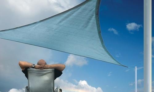 Shelterlogic 12 Ft Triangle Sun Shade Sails Sea Blue Blinq