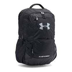 Under Armour Hustle II Backpack Black / Black / Silver 1413400