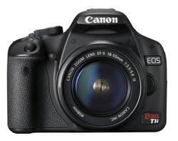 Canon EOS Rebel T1i 15.1MP Digital SLR Camera w/EF-S 18-55mm Lens 3818B002