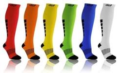 DCF Graduated Unisex Compression Socks 6 Pack - Multi - Size:L/XL 1446896