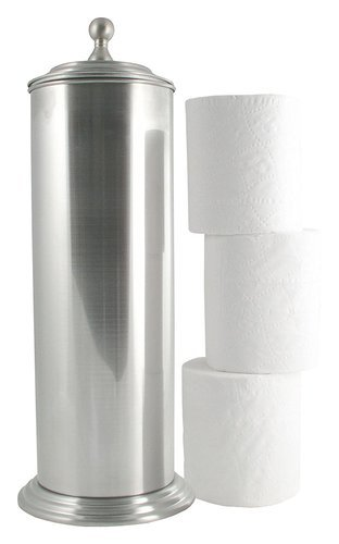 Ldr Exquisite Ashton Toilet Paper Canister Holder Brushed Nickel