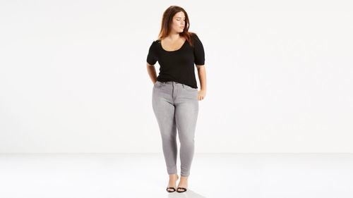 e6b7a705ff8 Levi s Women s Plus Size 310 Shaping Super Skinny Jeans - Grey ...