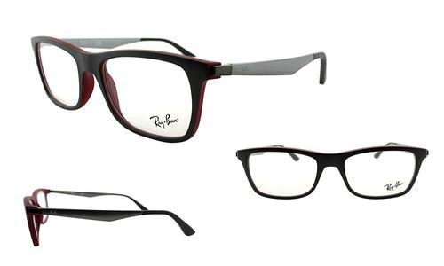 b6ea27947c ... Ray-Ban Women s Optical Frame - Gray Red - 53mm (RX7062 5576- ...