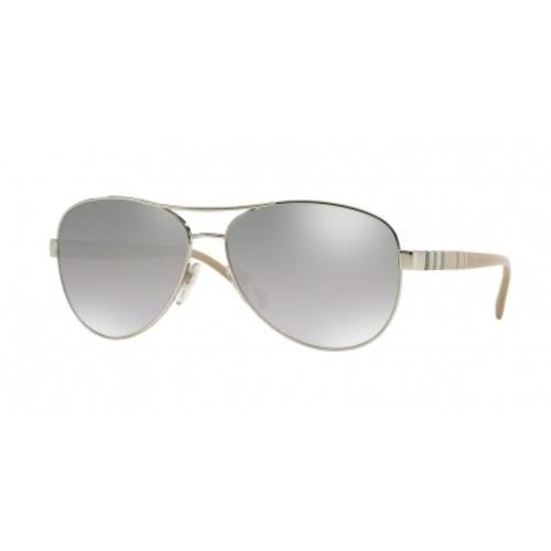 91189993794 Burberry Unisex Sunglasses - Gold Frame   Brown Gradient Lens ...