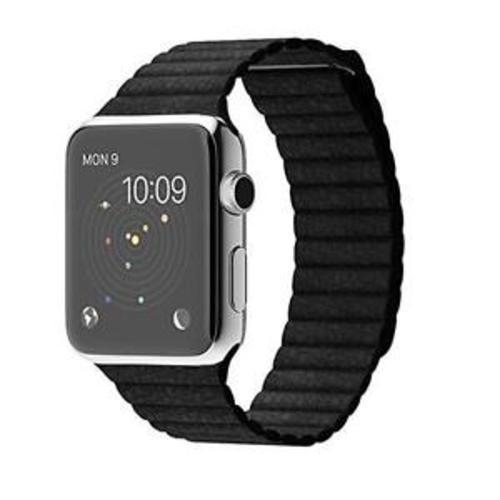 47ea7b57305 Apple Watch Series 1 42mm Smartwatch - Stainless Steel Black (MJYP2LLA) -  BLINQ