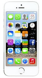 Apple iPhone 5s 32GB iOS Smartphone for AT&T - Silver (ME327LL/A)