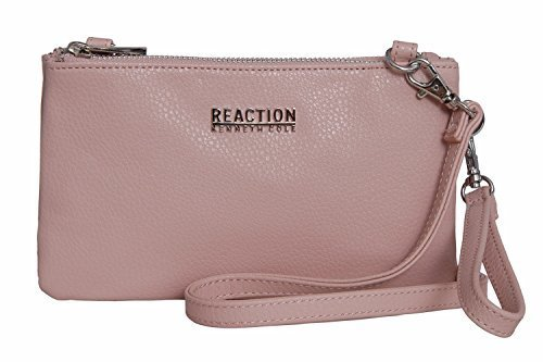 8d3eb6d0bdd0 ... Kenneth Cole Reaction Women s KN1716 Double Trouble Cross Body Bag -  Blush ...