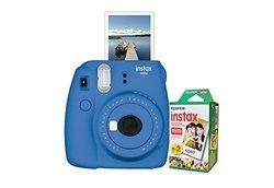 Fujifilm Instax Mini 9 Instant Film Camera: Smokey White 1500330