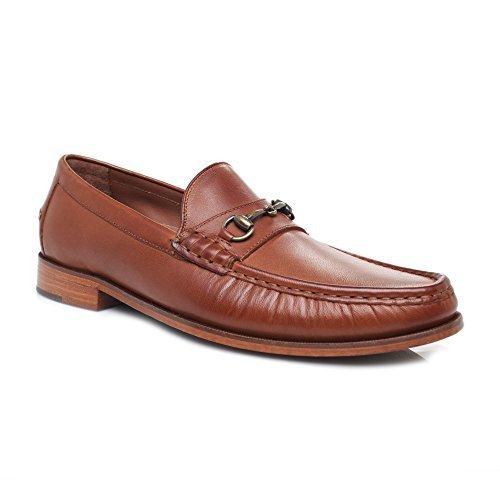 6225a85c7e7 Cole Haan Men s Pinch Gotham Bit Loafer British Loafer - Tan - Size ...