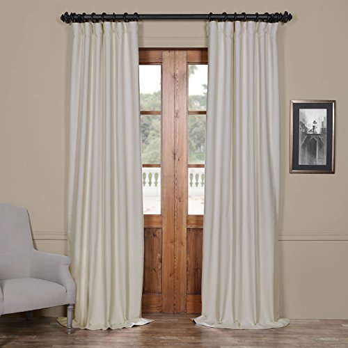 half price drapes bellino cottage white 50 x 120 inch blackout curtain check back soon blinq. Black Bedroom Furniture Sets. Home Design Ideas