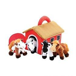 Deals on Etna Talking 5-Pc Horses & Barn Set