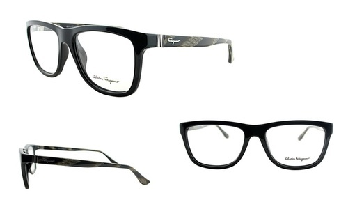 c20b8b3e8c5eb Salvatore Ferragamo Unisex Optical Frames - Black (269400154) ...
