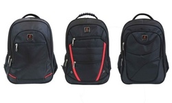 Galaxy Multi-Compartment Laptop Backpack: Tech