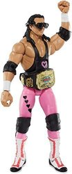 WWE Elite Flashback Hart Foundation Bret Hart Figure 1510398