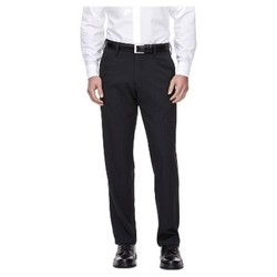 Haggar H26 Men's Performance 4 Way Stretch Straight Fit Trouser Pants - Black 30x30