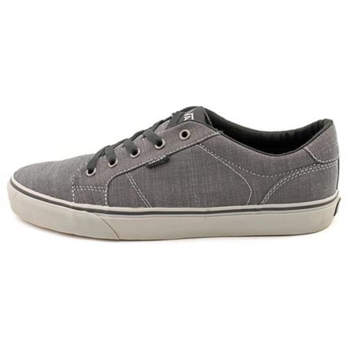 f356c57cf59 ... Vans Men s Bishop Canvas Herringbone Sneakers - Black Gray - Size  ...
