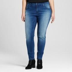 6f6756a4898a4 Ava & Viv Women's Plus Size Skinny Jeans - Dark Denim Wash - Size: 16W