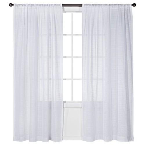 Horizontal sheer curtain panel nate berkus check back for Nate berkus window treatments
