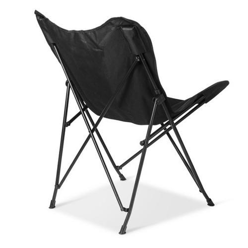 Room Essentials Metamorphosis Butterfly Chair   Black (51980711) ...