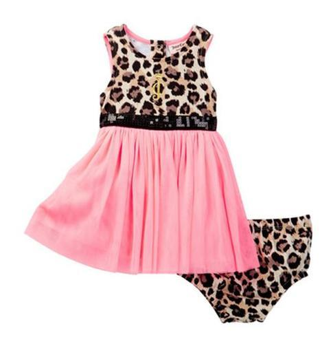 aa5e61363 ... Juicy Couture Baby Girls' 2-Pieces Animal Print Dress - Multi - Size:  ...