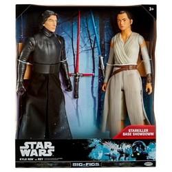 """Star Wars Kylo Ren vs. Rey Action Figure 18"""""""" - 2 pk"""" 1569914"""