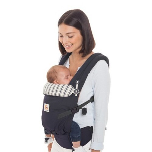 40ef7c2b307 Ergobaby Adapt Ergonomic Multi-Position Baby Carrier - Admiral Blue - Check  Back Soon - BLINQ