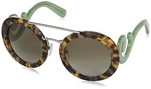 46b935194449 ... low cost prada womens baroque evolution sunglasses brown green pr13ss  uez4k1 1043c c7ea6