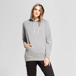 Women's Oversized Hoodie - Mossimo Supply Co.  Heather Gray XL 1588766