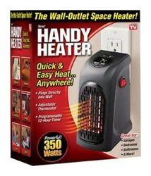 As Seen on TV Plug-In Handy Heater - Black 1592395