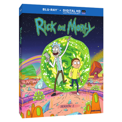 Rick and Morty The Complete First Season Blu-ray - 2014 1592866