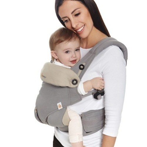 ccaf1208020 Ergobaby 360 All Carry Positions Ergonomic Baby Carrier - Gray - BLINQ