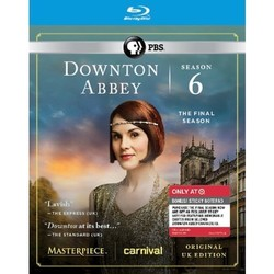 Downton Abbey Season 6 (Blu-ray) (w/Notepad) - Target Exclusive 1596633