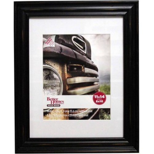 Better Homes Gardens Distressed 11x14 Picture Frame Black