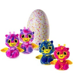 Hatchimals Surprise Giraven Hatching Egg with Twin By Spin Master - Pink 1603010