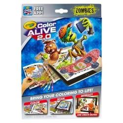 Crayola  Color Alive  2.0 - Zombies 1606170