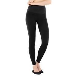 ASSETS  by Spanx  Seamless Slimming Leggings 2045 - Black XL 1608048
