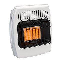 12,000 BTU Natural Gas Vent Free Infrared Wall Heater 1615278