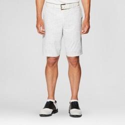 Jack Nicklaus Men's Windowpane Golf Shorts - White 30 1616861